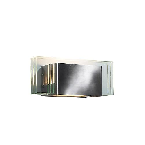 Dar SCO0750 Scout Modern Wall Bracket In A Satin Chrome Finish