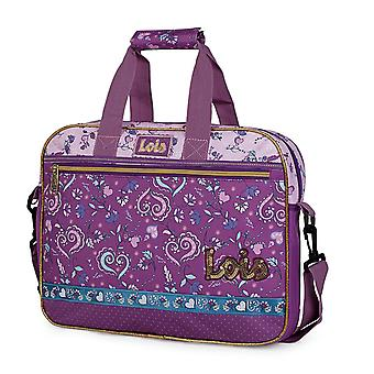 Extra School briefcase with padding for girl's computer from the brand name Nicosia Lois 130206