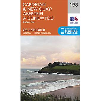 Cardigan and New Quay - Aberaeron (September 2015 ed) by Ordnance Sur