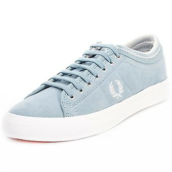 Fred Perry Men's Kendrick Tipped Cuff Brushed Coated Trainers B8265-C54