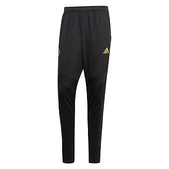 2019-2020 Man Utd Adidas Warm Pants (Schwarz)