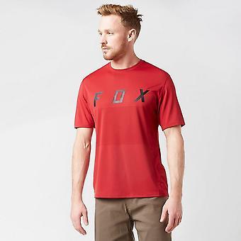 New Men's Ranger Fox Short Sleeve Jersey Red
