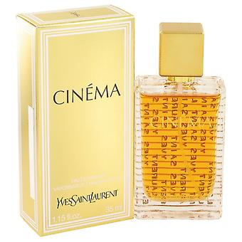 Cinema de Yves Saint Laurent Eau De Parfum Spray 1,15 oz/34 ml (femmes)