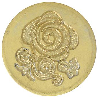 Large Decorative Seal Coin Rose 728Rose