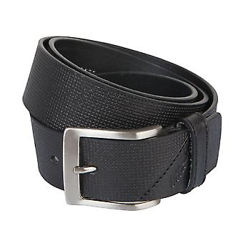 OTTO KERN belts men's belts leather belt black 2187