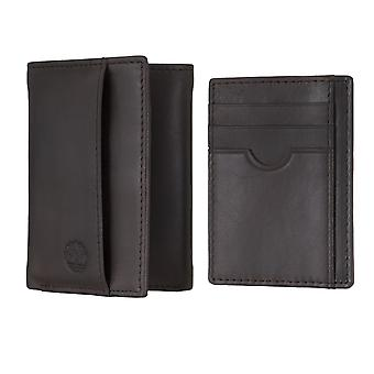 Timberland men's purse wallet purse with card holder Brown 4905
