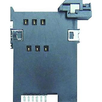 SIM Card connector No. of contacts: 6 Push Yamaichi 1 pc(s)