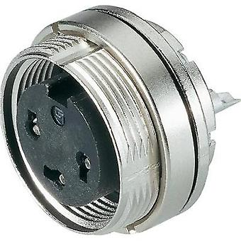 Binder 09-0112-80-04 Series 723 Miniature Circular Connector Nominal current (details): 6 A Number of pins: 4