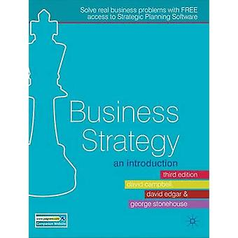 Business Strategy  An Introduction by Edgar & David