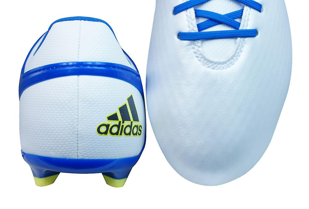 adidas Messi 15.1 FG / AG Boys Football Boots / Cleats - White