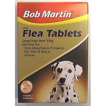 Bob Martin Flea Tablets Large Dogs Over 11kg 3 Tablets (Pack of 6)