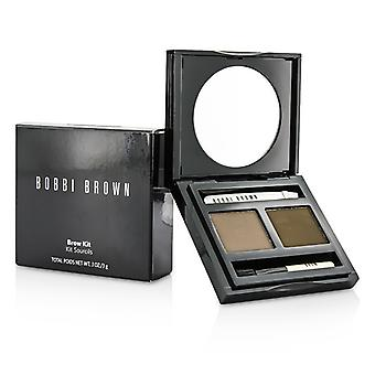 Bobbi Brown Brow Kit - # 02 zadel / mahonie 3g/0,1 oz