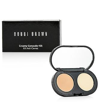 Bobbi Brown New Creamy Concealer Kit - Cool Sand Creamy Concealer + Pale Yellow Sheer Finish Pressed Powder 3.1g/0.11oz