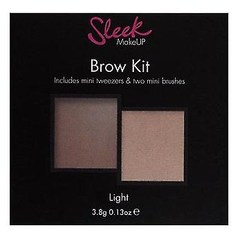 Sleek Make Up Light Brow Brow Kit (Woman , Makeup , Eyes , Eyebrow)
