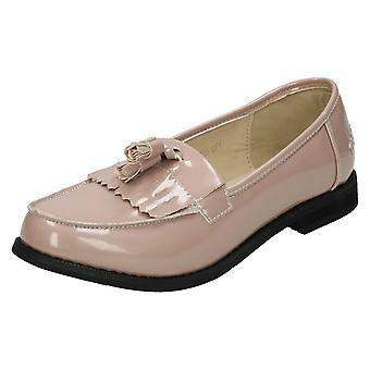 Ladies Spot On Loafers F80103