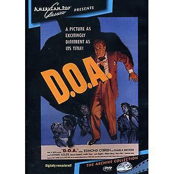 DOA (1950) [DVD] USA importerer