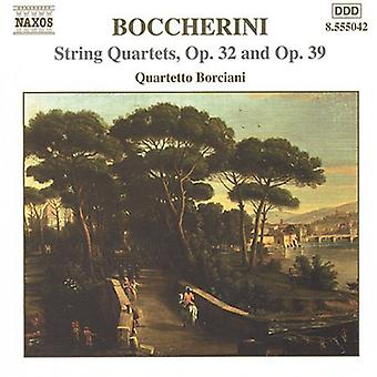 L. Boccherini - Boccherini: String Quartets, Opp. 32 & 39 [CD] USA import