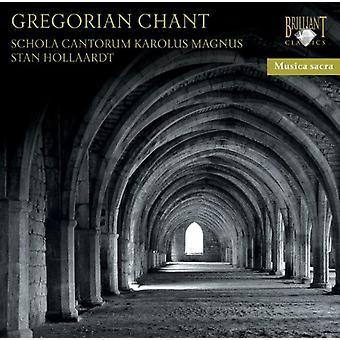 Schola Cantorum Karolus Magnus - importer des USA de Chant grégorien [CD]