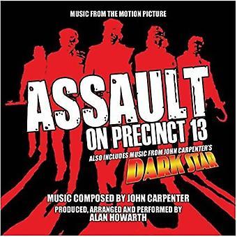Alan Howarth - Assault on Precinct 13 / Dark Star (musik fra) [CD] USA import