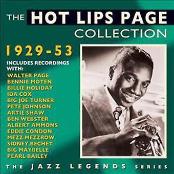 Varme læber side - varme læber side-samling 1929-53 [CD] USA importerer