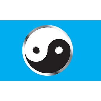 5 ft x 3 ft flagg - Yin Yang
