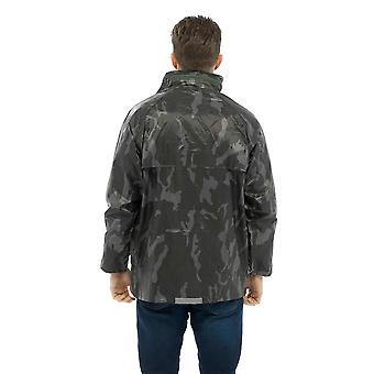 Mens Modern Casual Classic Outdoor Clothing Waterproof Jacket Outerwear Coat