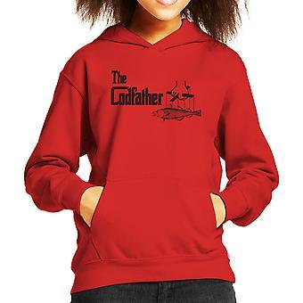 De Codfather Godfather visserij Logo Kid de Hooded Sweatshirt