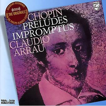 F. Chopin - Chopin: Preludes; Impromptus [CD] USA import