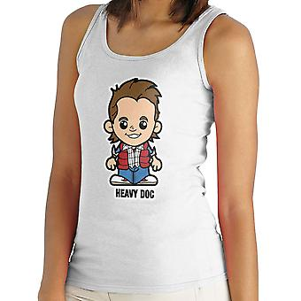 Lil Marty McFly Heavy Doc Back To The Future Women's Vest