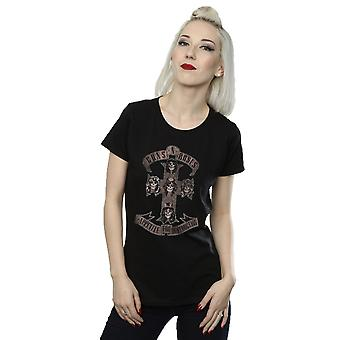 Guns N Roses kvinders appetit for destruktion Sepia T-Shirt