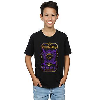 Harry Potter jongens chocolade kikkers gekleurd Label T-Shirt