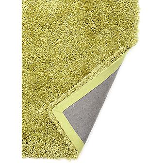 Luxurious Soft Bright Lime Green Shaggy Rug