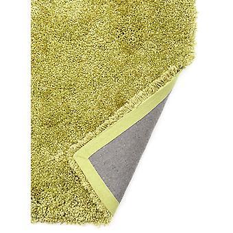 Luksuriøs blød Bright Lime grøn Shaggy tæppe