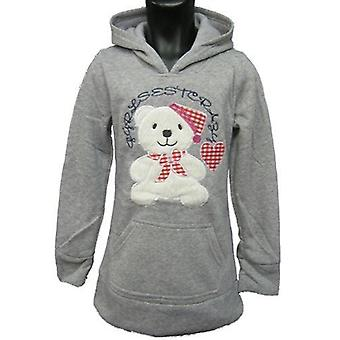 Girls Hoodies Fleece Jumper Teddy
