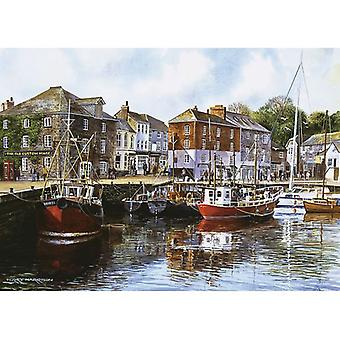 Gibsons Padstow Harbour Jigsaw Puzzle (1000 Pieces)