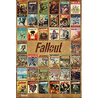 Fallout 4 - Magazine Covers Poster Poster Print