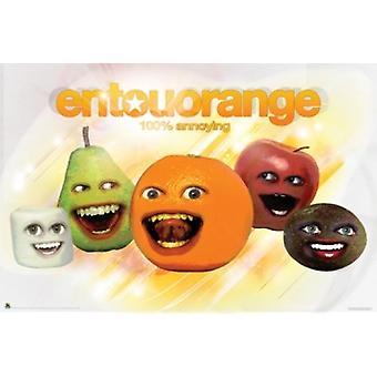 Annoying Orange Entouorange Plakat Poster drucken