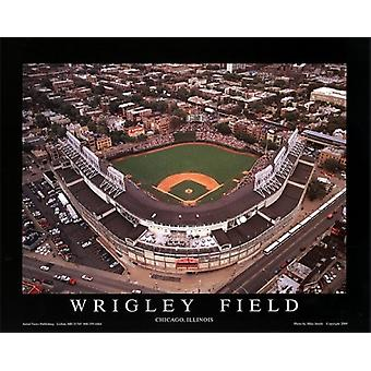 Wrigley Field - Chicago Illinois Poster trykk av Mike Smith (28 x 22)