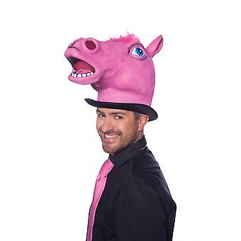 Horse mask horse mask pink animal mask LaTeX horse mask