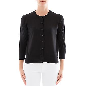 Snobby sheep women's 12280999 black silk Cardigan