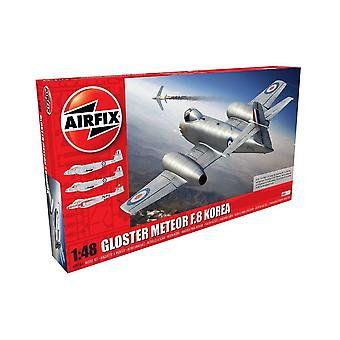 Airfix Gloster Meteor F8, Korean War 1:48 Scale Model Kit