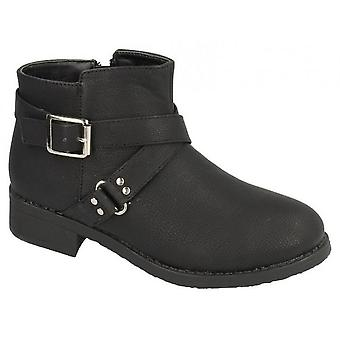 Spot On Childrens Girls Buckle Strap Ankle Boots