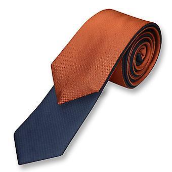 Biagio dubbelsidig halsduk Solid och mäns hals slips