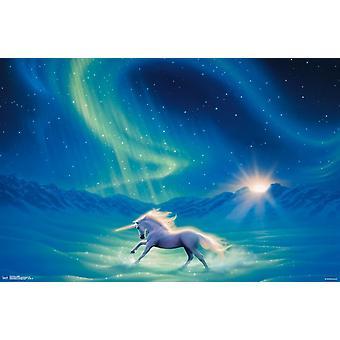 Unicorn - Twilight Poster Print