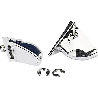 Absima 1:10 Sport wing mirror Chrome