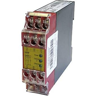 1 pc(s) SAFE 1 Riese Operating voltage: 24 Vdc, 24 V AC 3 makers, 1 brea