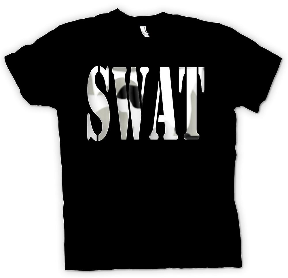 Mens T-shirt - SWAT - Special Weapons Elite