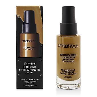 Smashbox Studio hud 15 timmars slitage återfuktande Foundation - # 3,35 Golden Medium Beige - 30ml / 1oz
