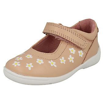 Girls Startrite Casual Flat Shoes Shine - Pink Leather - UK Size 5.5G - EU Size 22 - US Size 6.5