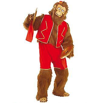 Skøre abe Plys kostume (buksedragt Shorts Vest hænder/fødder)
